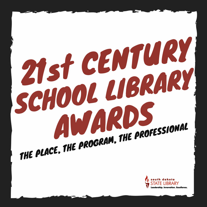 2019-2022 21st century school library badge