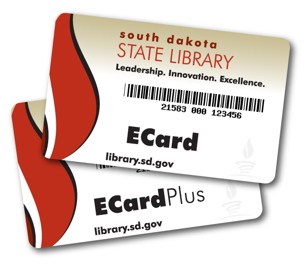 artwork of library cards